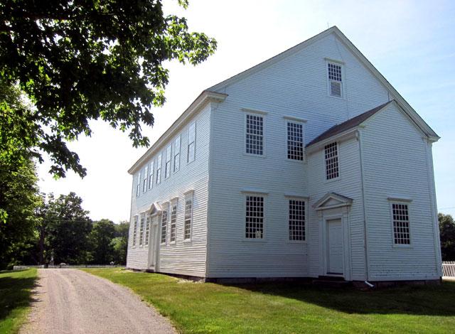 1787 Rockingham Meeting House - Rockingham, Vermont