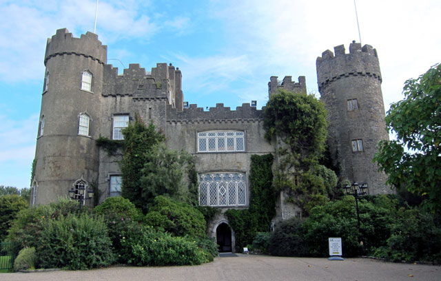 Front Entrance to Malahide Castle