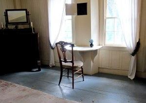 Desk Bronson made for Louisa where she wrote LITTLE WOMEN.