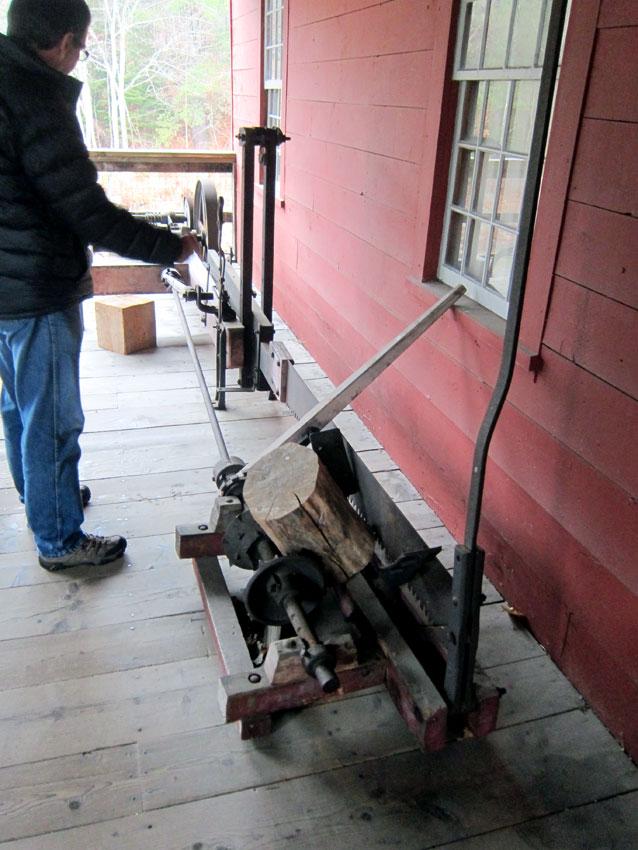 Wood cutter.