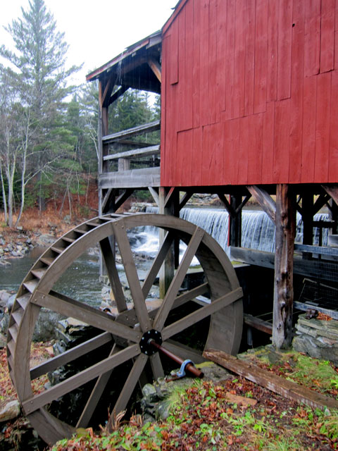 WATERWHEEL (restored). A fascination since my 5th grade science fair project.