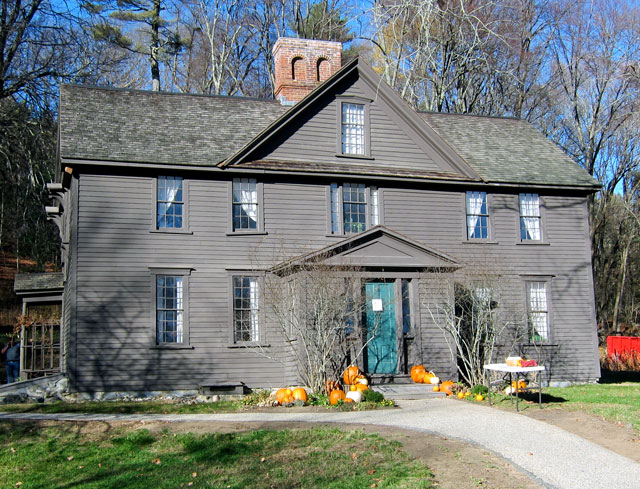 Orchard House, Concord, Massachusetts - November 2015