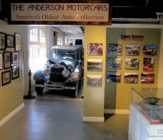 Entrance to the Larz Anderson Collection