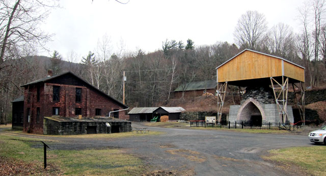 Copake Ironworks Furnace and Blower House