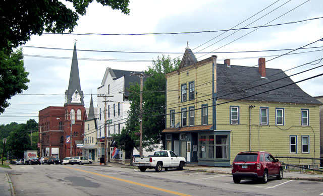 Main Street - Pittsfield, NH