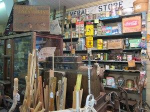 Original country store set up.
