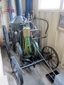 Original steam engine to run this carousel