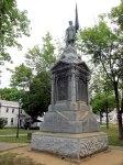 Pittsfield's impressive Civil War monument.