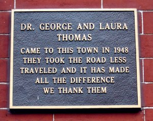 I should be so lucky to have a similar plaque in 20 or more years.