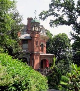 Packer's son's home next door.