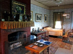 Front room where Grant died - unchanged