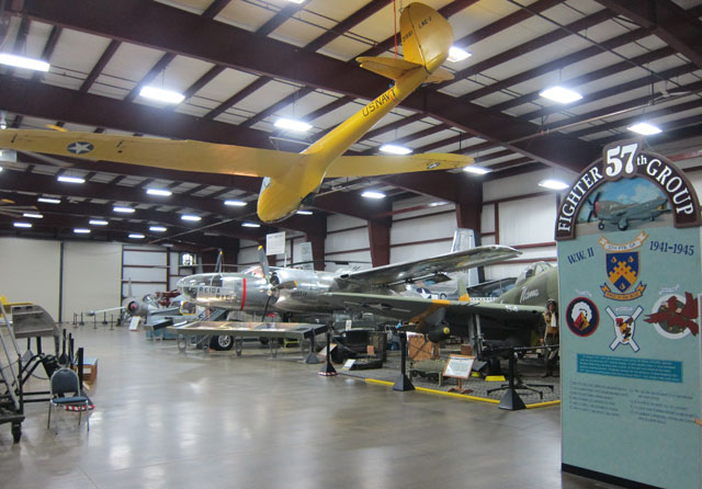 Military Hanger - NE Air Museum.