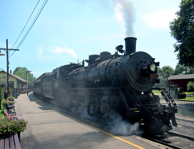 Essex Connecticut Steam Train