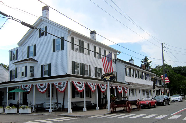 Griswold Inn, Essex, Connecticut, established 1776.