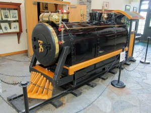 Gillette's hobby was his miniature railroad, with stations and three miles of track around his estate.