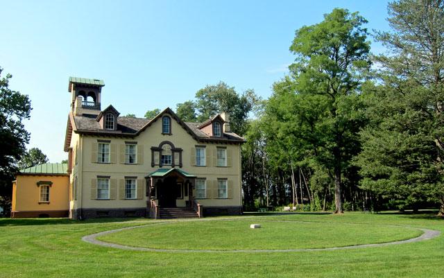Martin Van Buren's Lindenwald in Kinderhook, NY