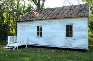 Ichabod Crane's Schoolhouse in Kinderhook.
