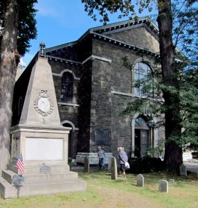 Monument and grave of George Clinton
