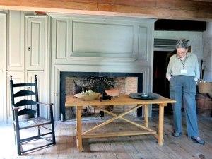 Original 1663 kitchen