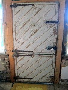 Ubiquitous Dutch Door.
