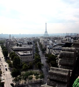 Towards the Eiffel Tower