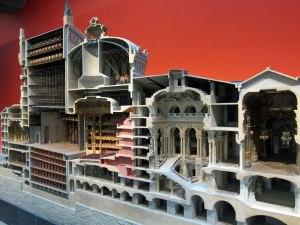 I enjoyed this model of the Opera House.