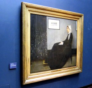 I did not realize that James McNeill Whistler's mother resided here.