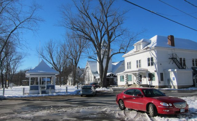 Village Green in Fairlee, Vermont - adjoining Chapman's to the south.