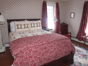 Typical room at Golden Stage Inn.