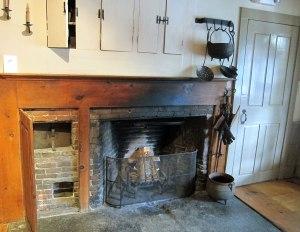 The original 18th century kitchen.