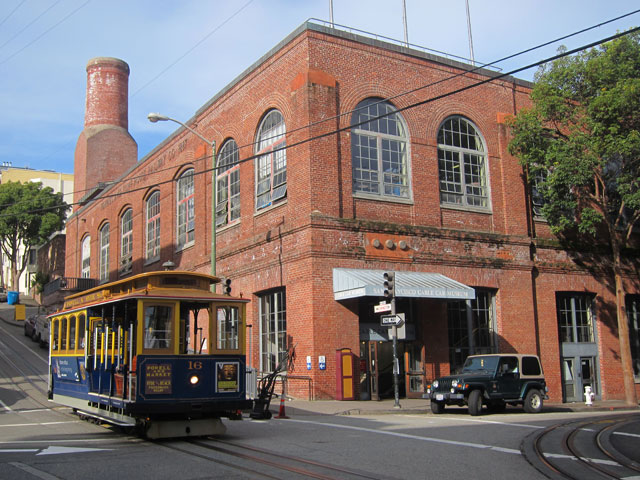 CABLE CAR MUSEUM - SAN FRANCISCO